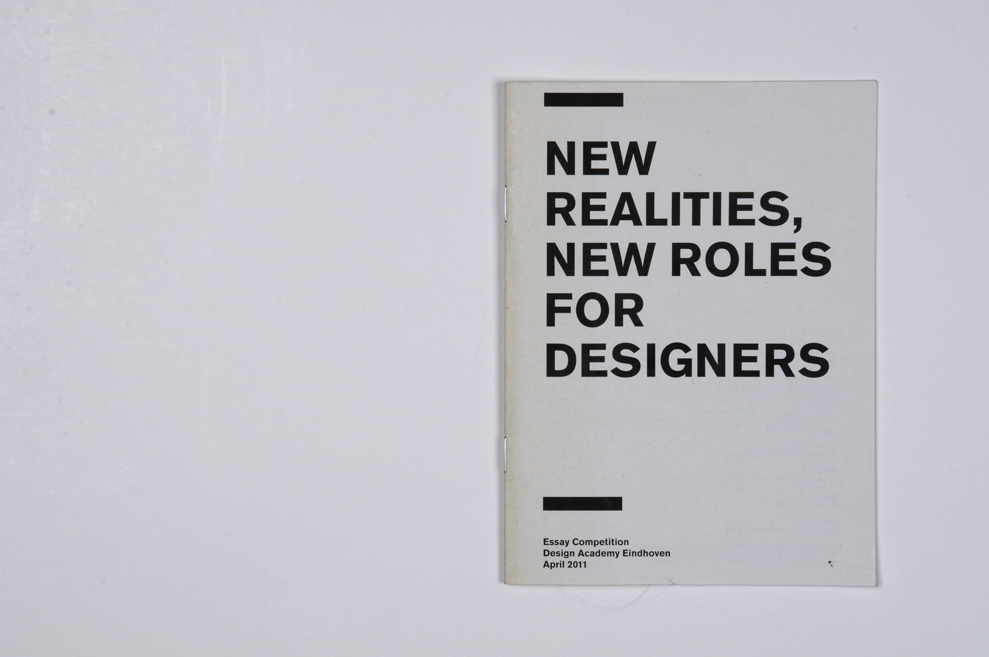 essay on design winner of the first design academy lectoraat essay competition new realities new roles for designers